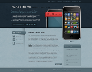 Mobile theme for WordPress
