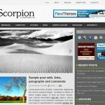 Scorpion Wordpress Theme