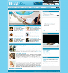 Studiopress wordpress theme - Lifestyle