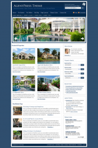 Real estate wordpress theme from studiopress
