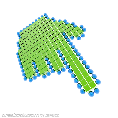 hand cursor (from blue-green series)