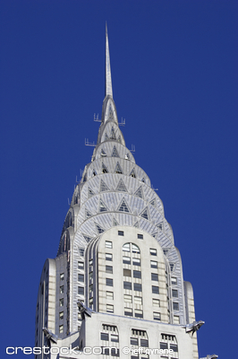 Top of the Chrysler building, Manhattan, New Y...